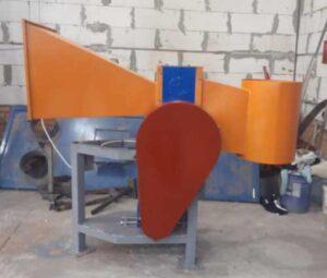 Рубильная машина для заготовки дров.